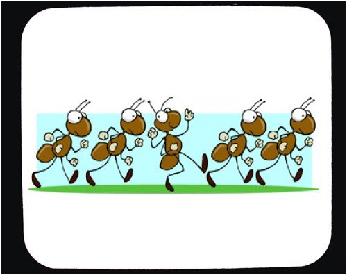 Ants marching clipart