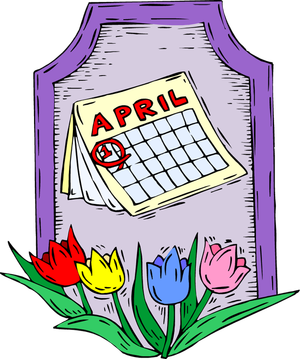 April clipart for teachers image 2