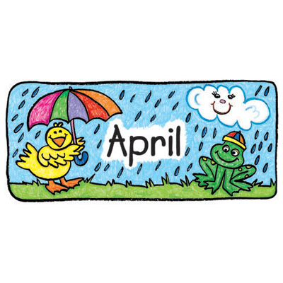 April clipart for teachers image