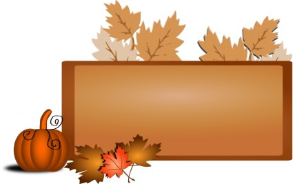 Autumn fall festival clipart 2