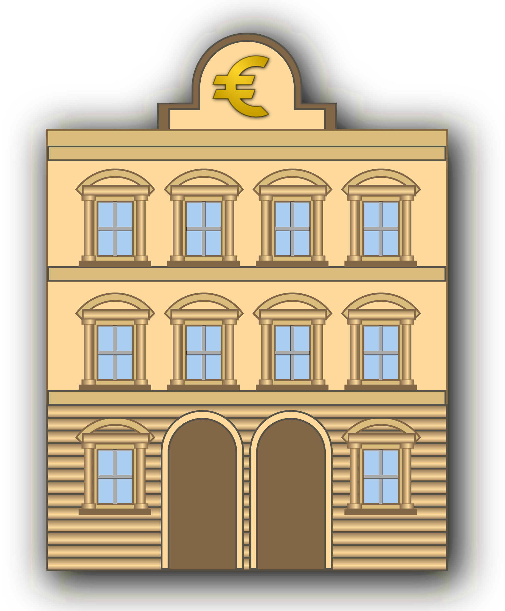 Bank clip art 3 image