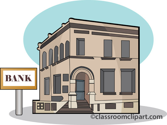 Bank clip art 3