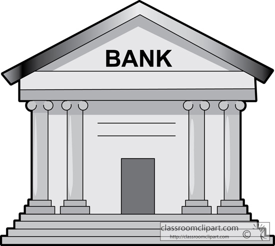 Bank clip art free clipart images 2