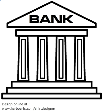 Bank clip art free clipart images 6