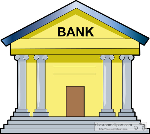 Bank clip art free clipart images