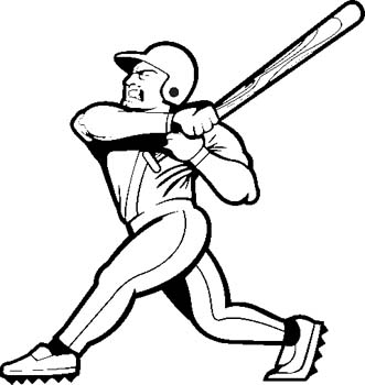 Baseball  black and white baseball clipart black and white free images 10