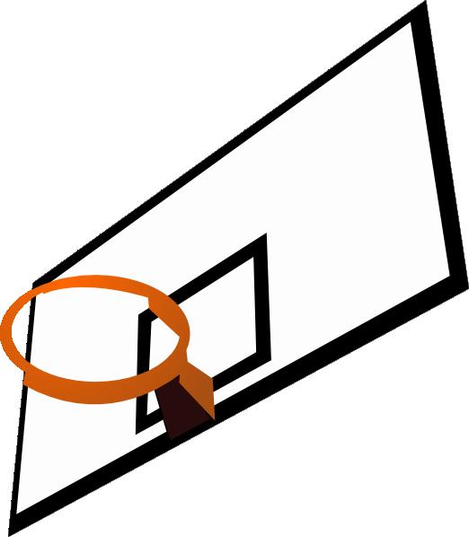 Basketball court clip art clipart