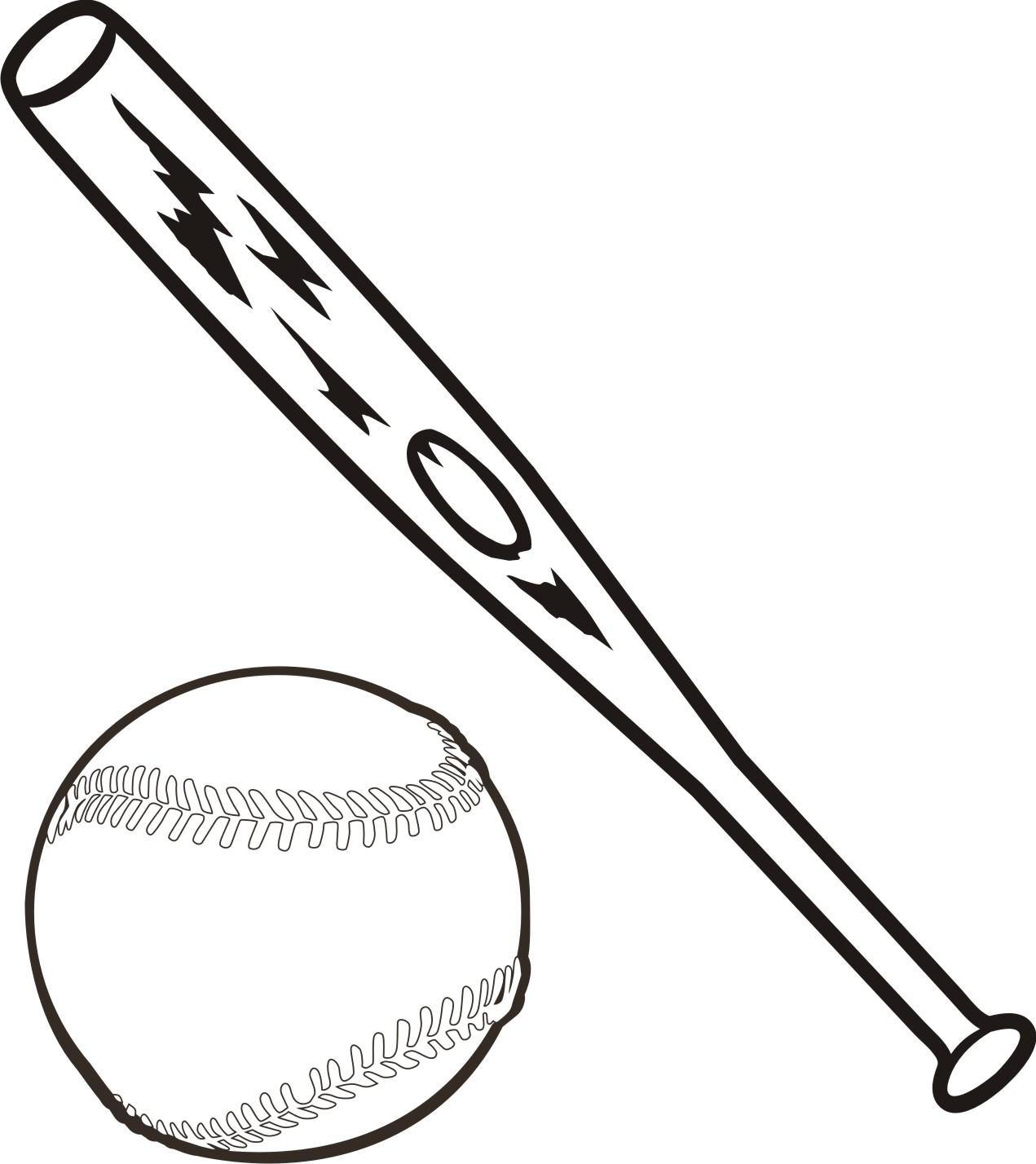 Bat  black and white baseball bat black and white clipart 2
