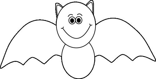 Bat  black and white bat black and white clipart
