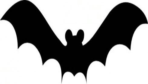 Bat  black and white bat clipart 6 2