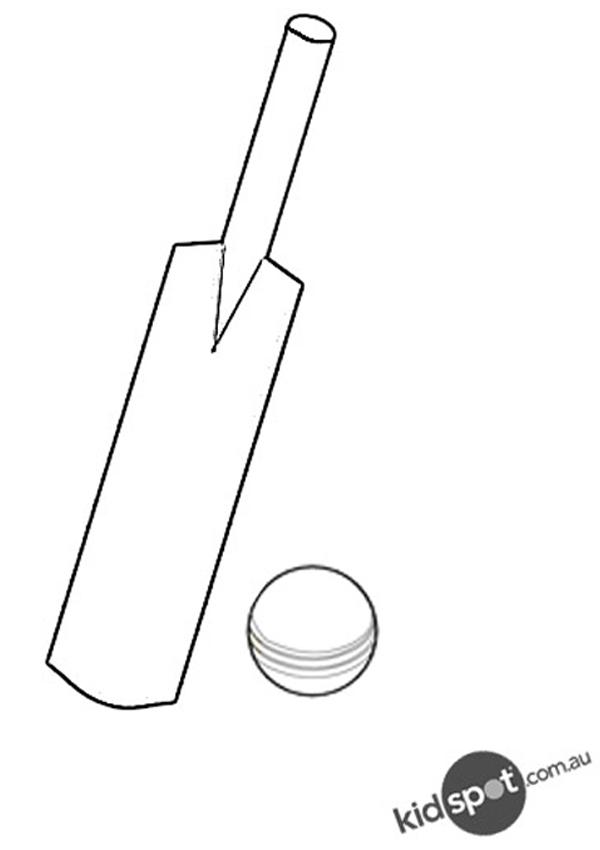 Bat  black and white cricket bat clipart black and white 2