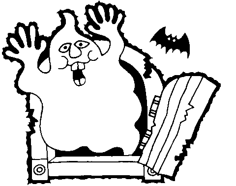 Bat  black and white free bat clipart halloween clip art images and