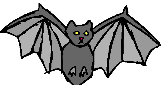 Bat  black and white halloween bat clipart black and white free 3 3