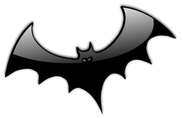 Bat  black and white halloween bat clipart black and white free 6