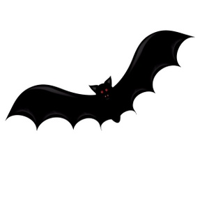 Bat  black and white halloween bat clipart black and white free 9