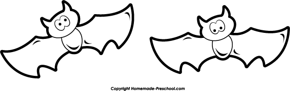 Bat  black and white halloween bat clipart black and white free