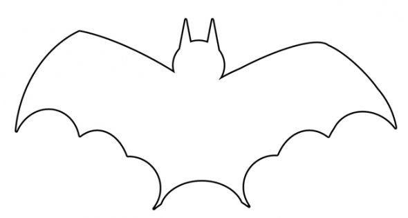 Bat  black and white halloween bat clipart black and white