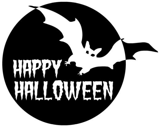 Bat  black and white halloween black and white halloween clipart free