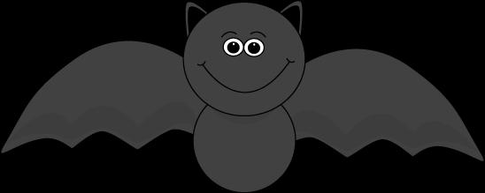 Bat  black and white halloween black bat clipart 2