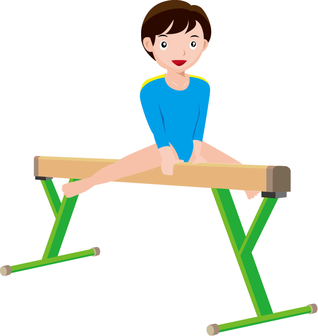 Boys gymnastics clipart free images