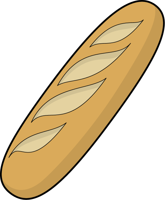 Bread clipart free images 4