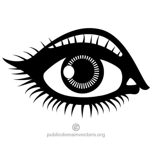 Cartoon eyes clip art cartoon