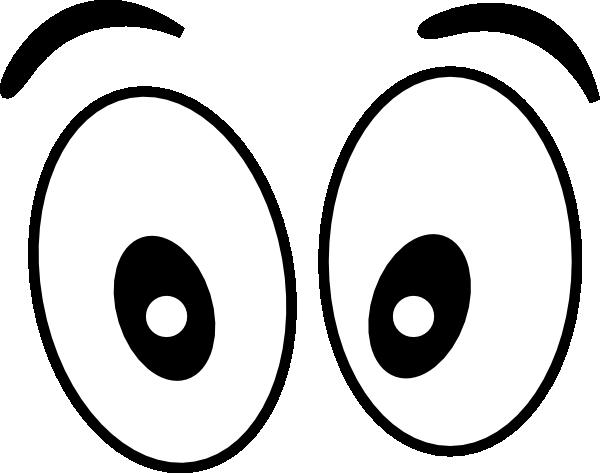 Cartoon eyes clipart 2