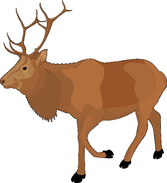 Cartoon moose clipart 3