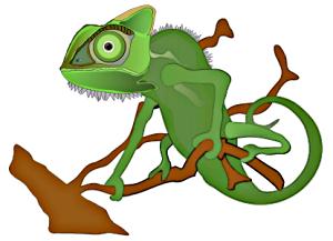 Chameleon clip art download 2