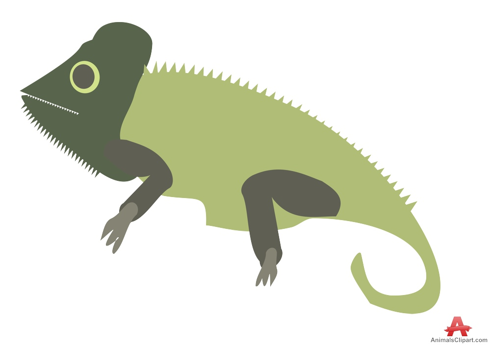 Chameleon clipart free design download