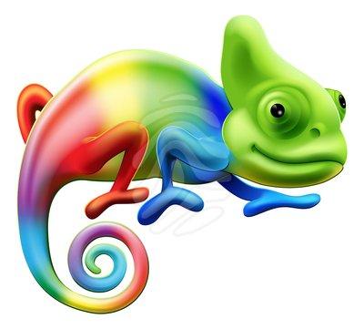 Chameleon clipart free images 3