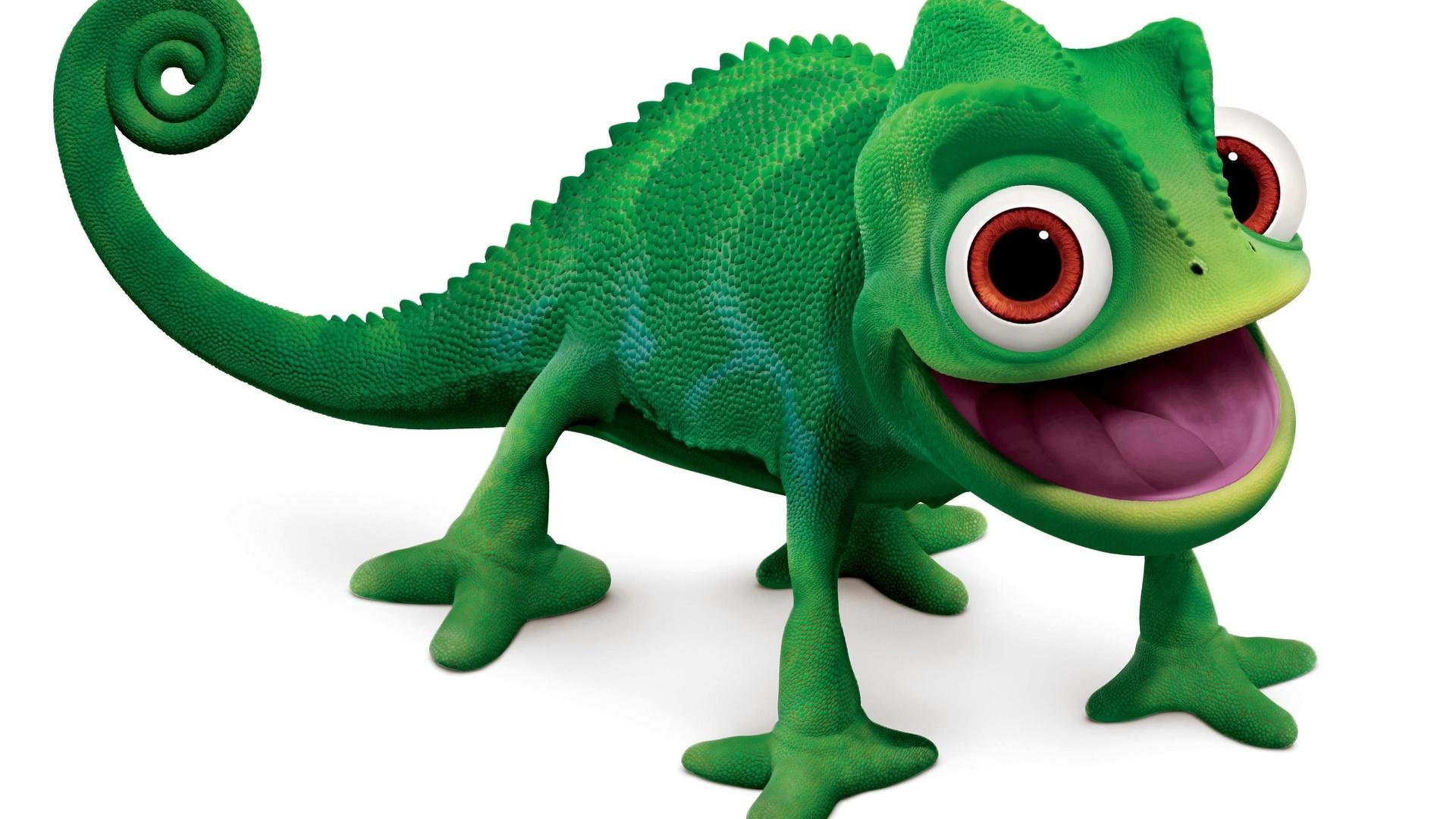 Chameleon clipart hostted