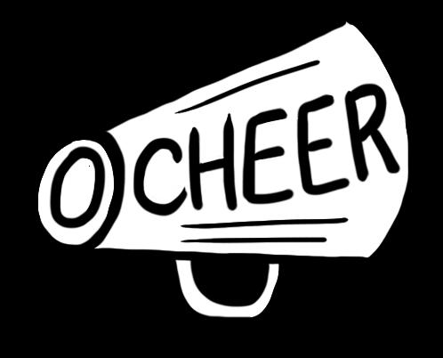 Cheer megaphone cheerleader megaphone clipart 2