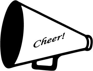 Cheer megaphone clipart 4