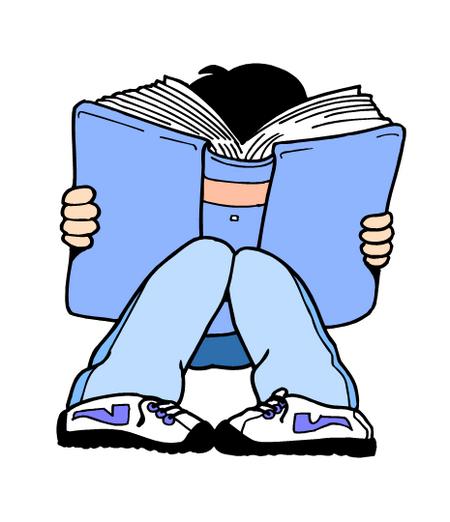 Child reading free clip art children reading 3