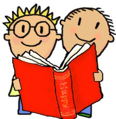 Child reading free clip art children reading 8