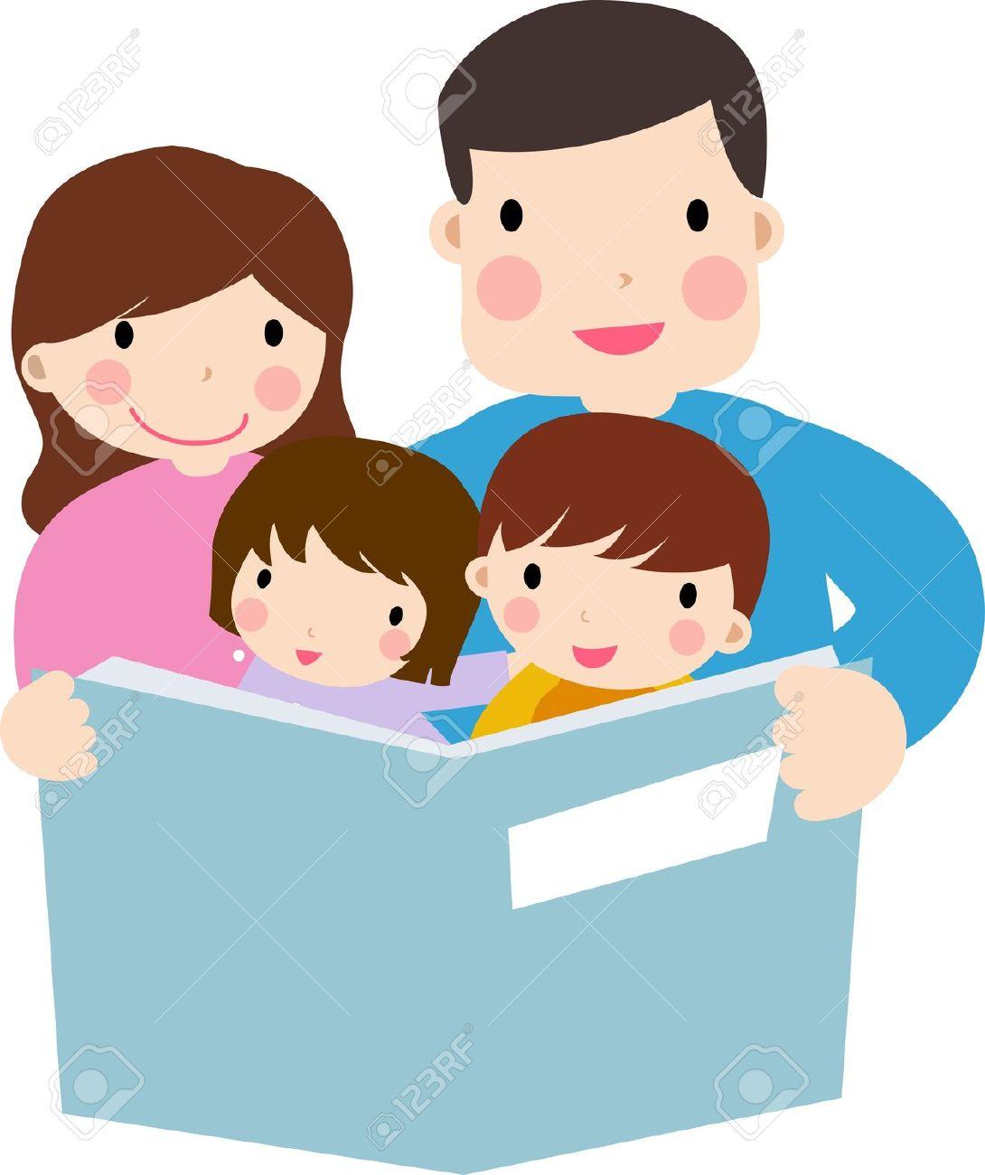 Child reading parents reading with children clipart clipartfest
