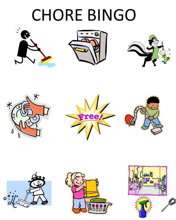 Chores chore clip art hostted