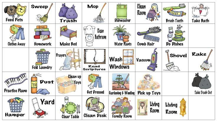 Chores clip art free printable and image search on