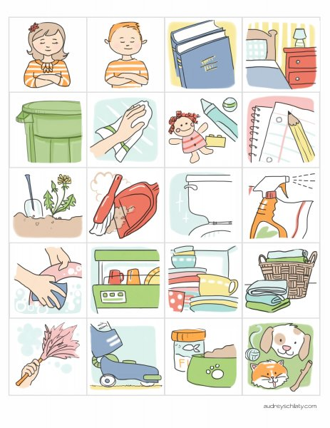 Chores clip art printable pictures and free printable on 2