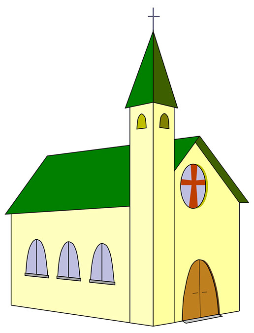 Church clip art printable free clipart images