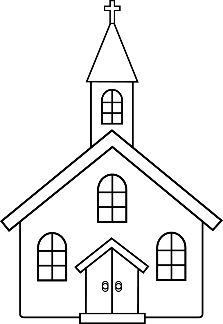 Worship clipart black and white