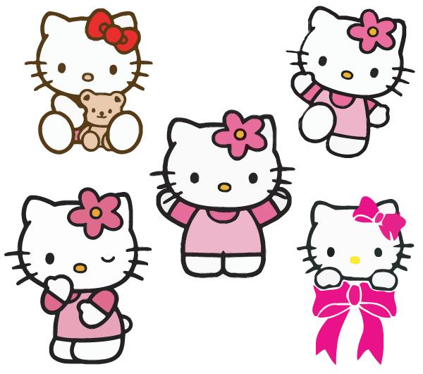 Clip art clip hello kitty 2 image