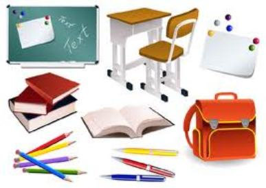 Clipart school supplies clipart