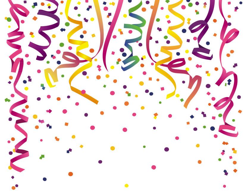 Confetti clipart 2