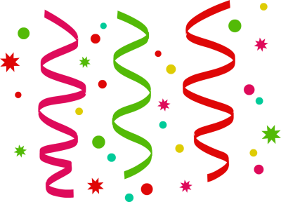 Confetti clipart free images