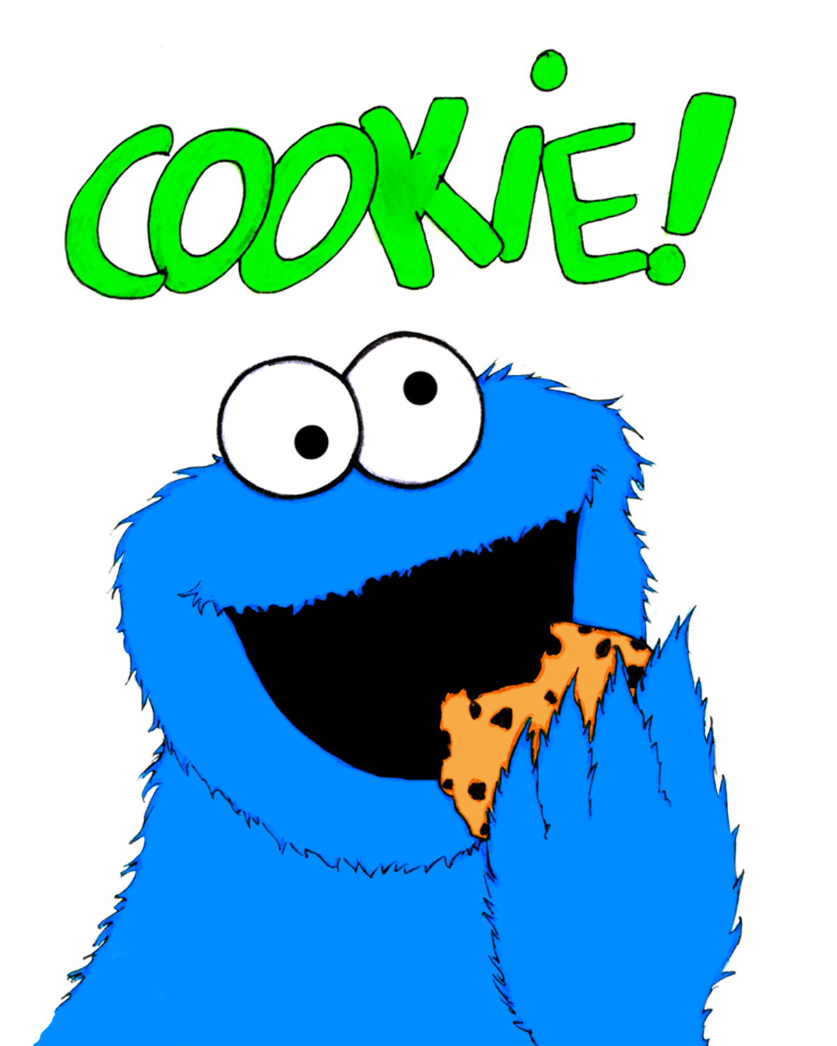 Cookie monster clip art free clipart images 12