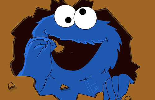 Cookie monster clipart clipart