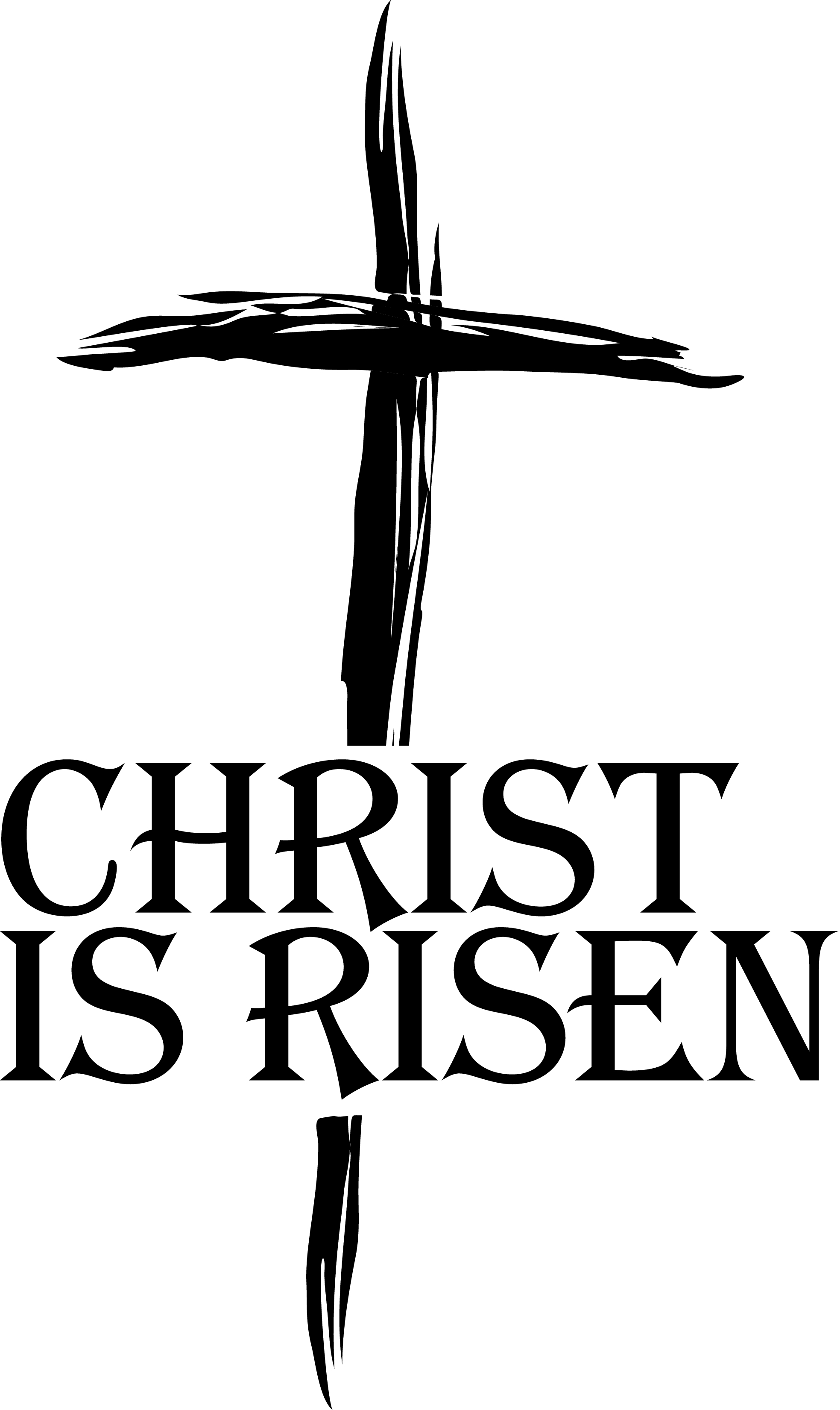 Cross  black and white easter cross clipart black and white 4
