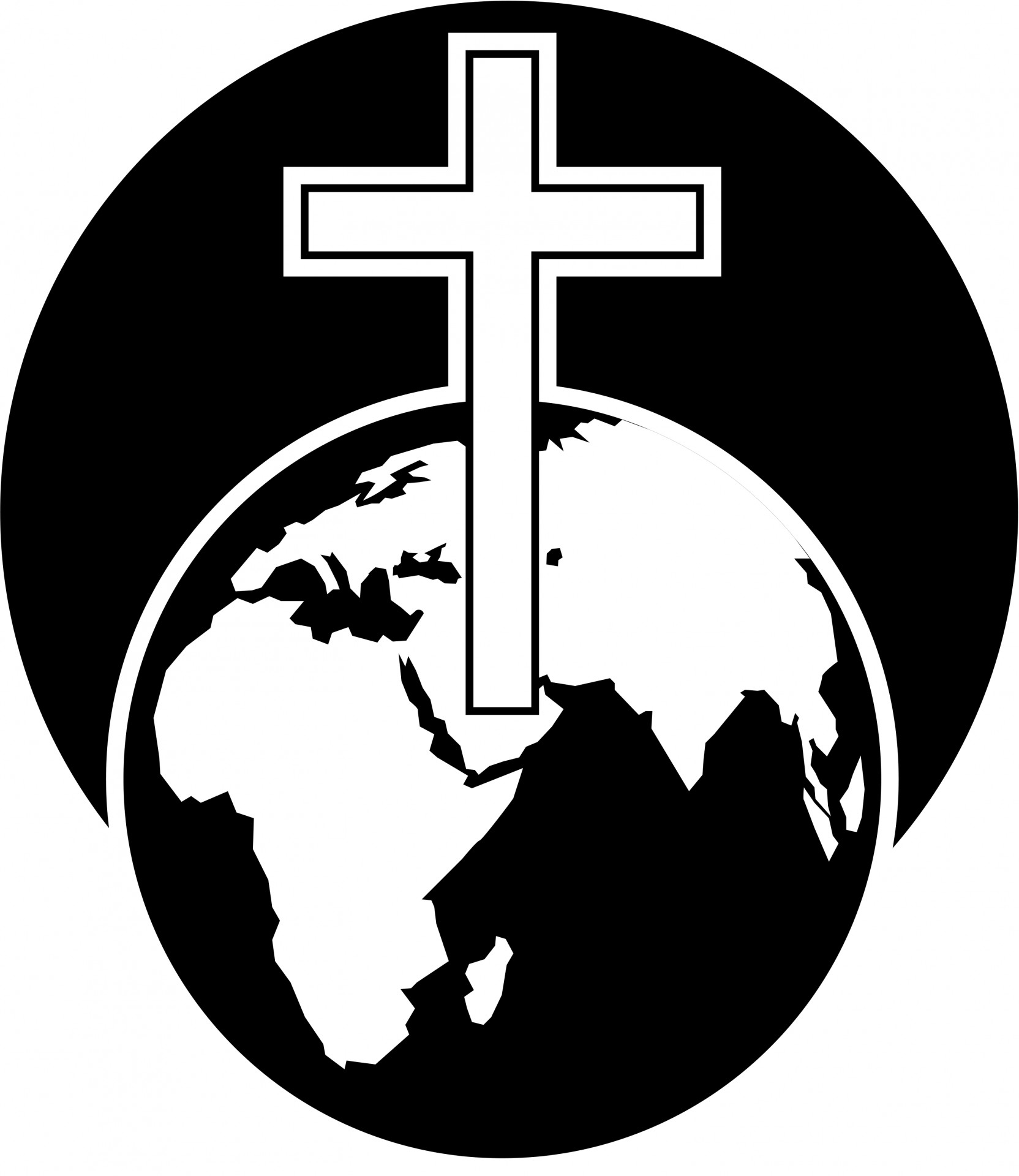 Cross  black and white free cross clipart